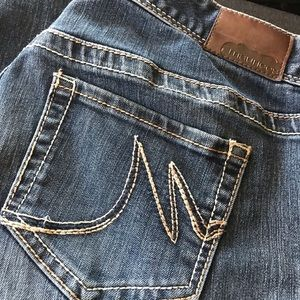 Very comfy Maurice's size 14 jeans, hemmed 👖